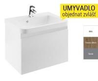 SD 550 10° skříňka pod umyvadlo 55cm bílá, X000000733, Ravak