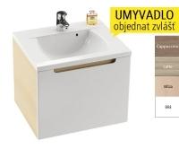 SD 700 Classic skříňka pod umyvadlo S-Onyx/bílá, X000000244, Ravak
