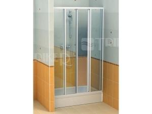 SD2 sprchové dveře SD2/120, profil:bílý, výplň:pearl