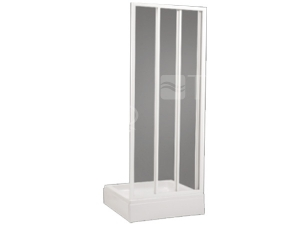 SD2 sprchové dveře SD2/80, profil:bílý, výplň:chinchila