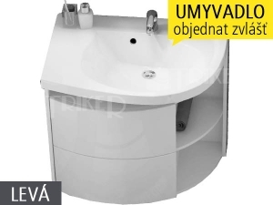 SDU Rosa Comfort skříňka pod umyvadlo 78cm