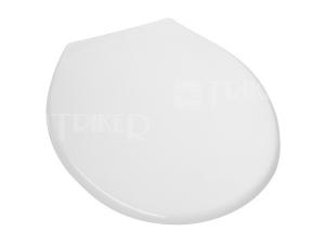 Sedátko 3550 s antibakteriální úpravou, bílé