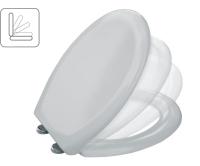 Sedátko Benefit duroplastové se zpomalovacím mechanismem bílé, 161400009000, MKW