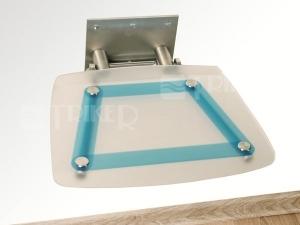 Sedátko do sprchy OVO B blueline