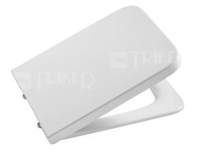 Sedátko Inspira Square se zpomalovacím mechanismem, bílé supralit