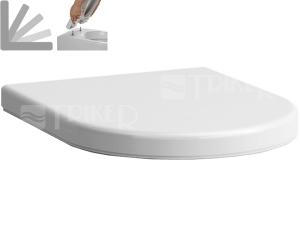 Sedátko Laufen Pro Special (pro H820956 a H820966) se zpomalovacím mechanismem