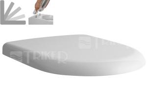 Sedátko Laufen Pro Universal se zpomalovacím mechanismem (pro kapotovaná wc)