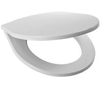Sedátko Lyra plus termoplast, plastové úchyty, bílé (závěsné klozety)