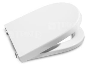 Sedátko Meridian supralit se zpomalovacím mechanismem, bílé