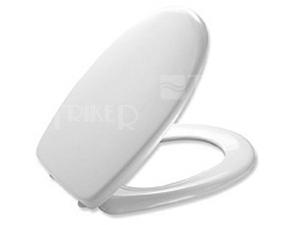 Sedátko Prima duroplastové antibakteriální se zpomalovacím mechanismem, bílé