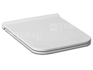 Sedátko Pure SLIM duroplastové bílé