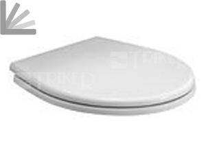 Sedátko Rekord duroplastové se zpomalovacím mechanismem, bílé