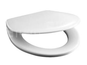 Sedátko Zeta duroplastové plastové panty bílé