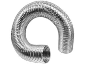 Semiflex trubka ventilační hliníková, jednovrstvá 80 x 1000 mm
