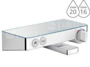 ShowerTablet Select 300 vanový termostat bílá/chrom