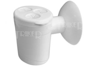 Sifon kondenzační s kuličkou EK2P000 až 3 vstupy, bílý