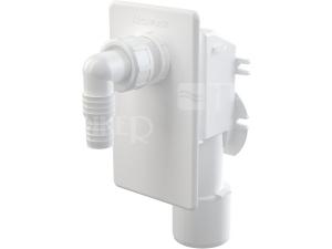 Sifon pračkový podomítkový APS4 odpad 50 mm bílá krytka