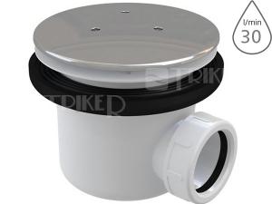 Sifon sprchový Ravak Professional pro vaničky s otvorem 90mm, kovová krytka