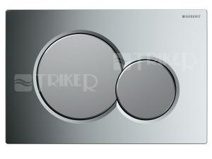 Sigma01 ovládací tlačítko lesklý/matný chrom KA