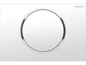 Sigma10 ovládací tlačítko bílá/lesklý chrom/bílá