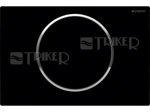 Sigma10 ovládací tlačítko černá/lesklý chrom/černá