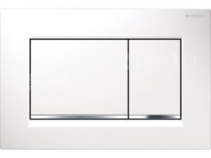 Sigma30 ovládací tlačítko bílá/lesklý chrom/bílá