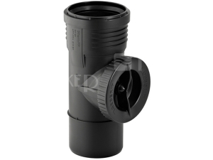 Silent-PP čisticí kus 90° 110 mm