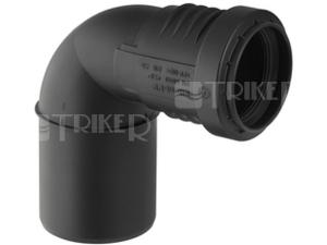 Silent-PP koleno přechodové 87,5 mm 50/40 mm