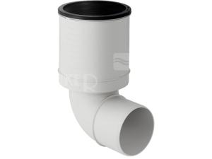 Silent-PP koleno připojovací pro WC 90 mm