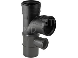 Silent-PP kombinovaná odbočka 87,5° 110/110/ 50 mm
