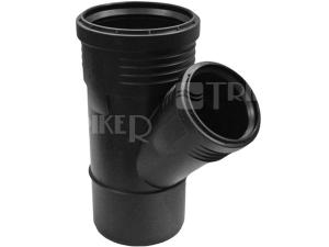 Silent-PP odbočka 45° 110/110 mm