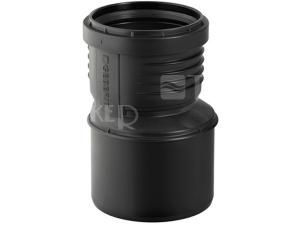 Silent-PP redukce excentrická  50/40 mm