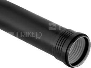 Silent-PP trubka  90 x 3,1 x 1000 mm