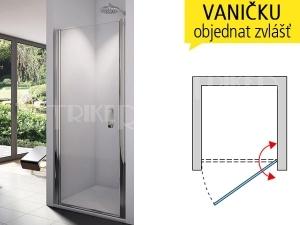 SL1 Sprchové dveře
