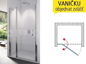 SL13 Sprchové dveře