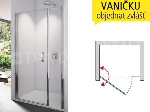 SL31 Sprchové dveře
