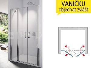 SL32 Sprchové dveře