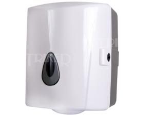 SLDN 02 Zásobník na papírové ručníky v rolích bílý