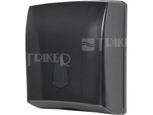 SLDN 03N Zásobník na skládané papírové ručníky černý