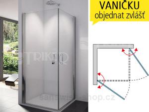 SLE1 Sprchové dveře