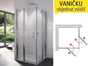 SLE2 Sprchové dveře