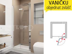 SLF1 Sprchové dveře
