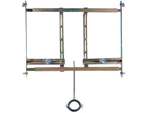 SLR 01 montážní rám pro pisoár do lehkých příček (pro automatický splachovač)