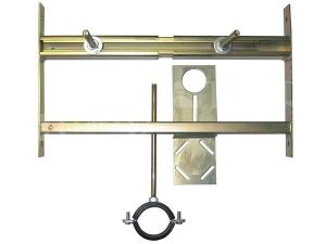 SLR 01L montážní rám pro pisoár s radarovým splachovačem na liště