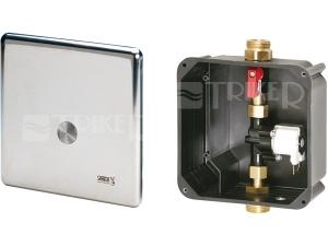 SLS 01P automatické ovládání sprchy s piezo tlačítkem pro jednu vodu