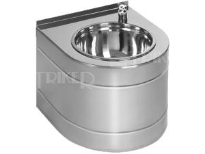 SLUN 14E Nerezová pitná fontánka s automatickým výtokem