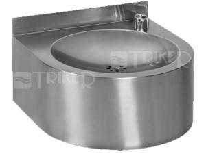 SLUN 62E Nerezová pitná fontánka s automatickým výtokem SLUN 62EB 6V, bateriové napájení, lesklá