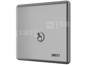 SLW 01P automatický splachovač WC s piezo tlačítkem, nerez