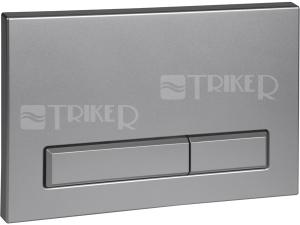 SLW 52 ovládací tlačítko do rámu SLR 21, matný chrom