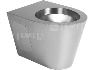 SLWN 19 Nerezové závěsné WC 40 cm, matné